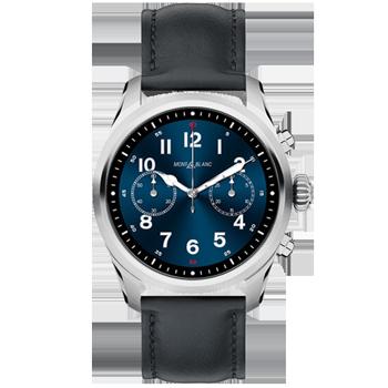 b523e322101 Smartwatch Montblanc Summit 2 Unissex Couro Preto - 123859