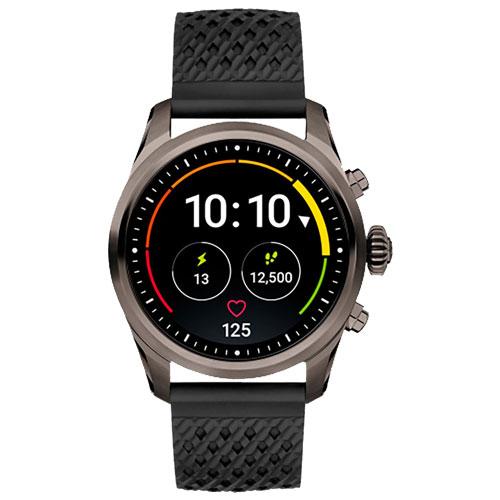 Smartwatch Montblanc Summit 2 Unissex Borracha Preta - 123860