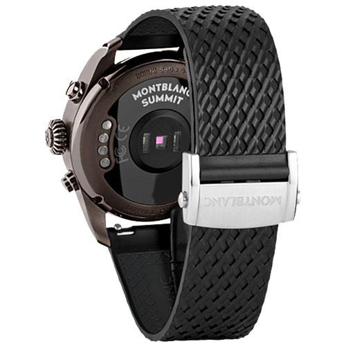 3de0267b0d9 Vivara Relógios Smartwatch montblanc summit 2 unissex borracha preta -  123860. Passe o mouse para ampliar