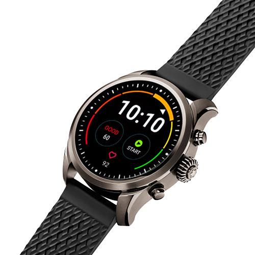 457ad31f1ed Smartwatch Montblanc Summit 2 Unissex Borracha Preta - 123860