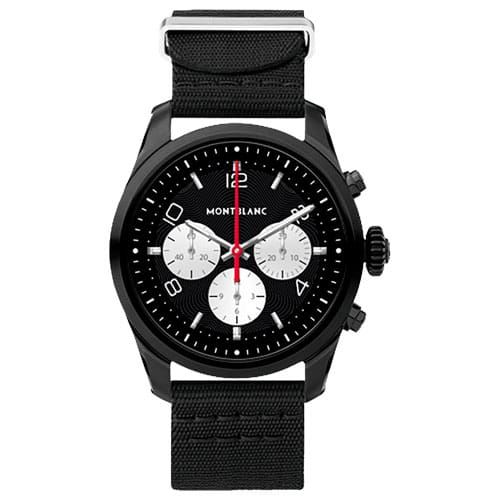 Smartwatch Montblanc Summit 2 Unissex Nylon Preto - 123861