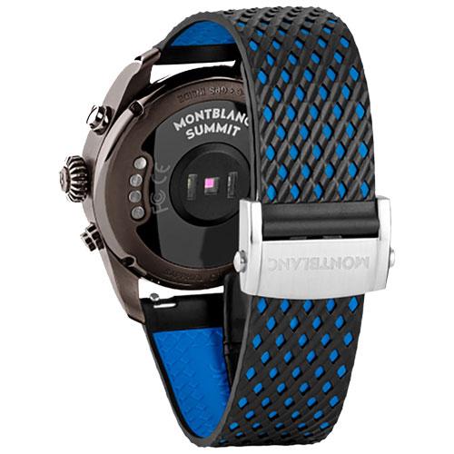 a49e2ae1be5 Vivara Relógios Smartwatch montblanc summit 2 unissex borracha preta -  123863. Passe o mouse para ampliar