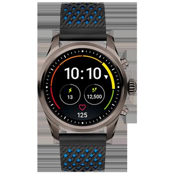 2b6e4e3c994 Smartwatch Montblanc Summit 2 Unissex Borracha Preta - 123863