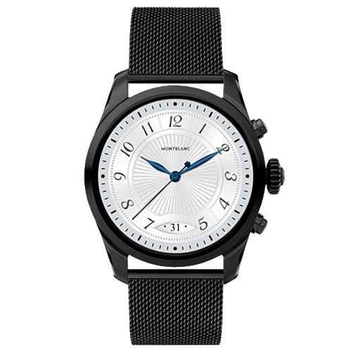 Smartwatch Montblanc Summit 2 Unissex Aço Preto - 123865