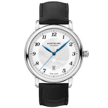 44a8d8bfd63 Relógio Montblanc Masculino Couro Preto - 116511