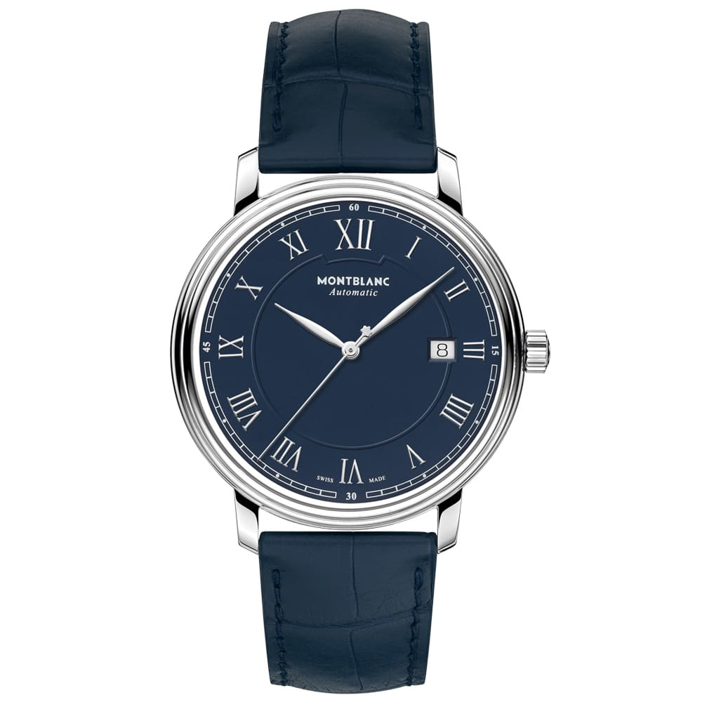 a73dfd077d6 Relógio Montblanc Unissex Couro Azul - 117829