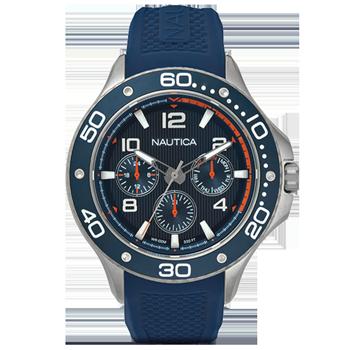58b7e8ae0ee Relógio Nautica Masculino Borracha Azul - NAPP25002