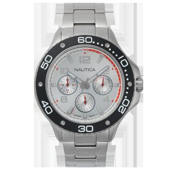 2bd763f1075 Relógio Nautica Masculino Aço - NAPP25005