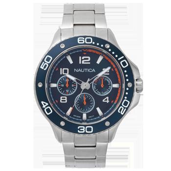 29e46a1c9b8 Relógio Nautica Masculino Aço - NAPP25006