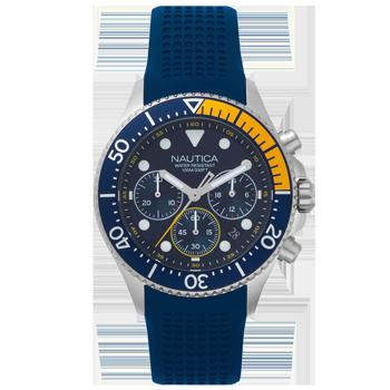 df2a241a742 Relógio Nautica Masculino Borracha Azul - NAPWPC002