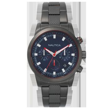 d526053bf33 Relógio Nautica Masculino Aço Preta - NAPTYR005