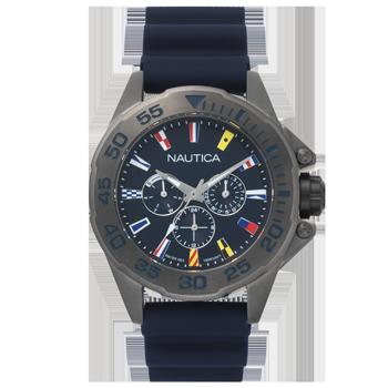c645bb42574 Relógio Nautica Masculino Borracha Azul - NAPMIA008