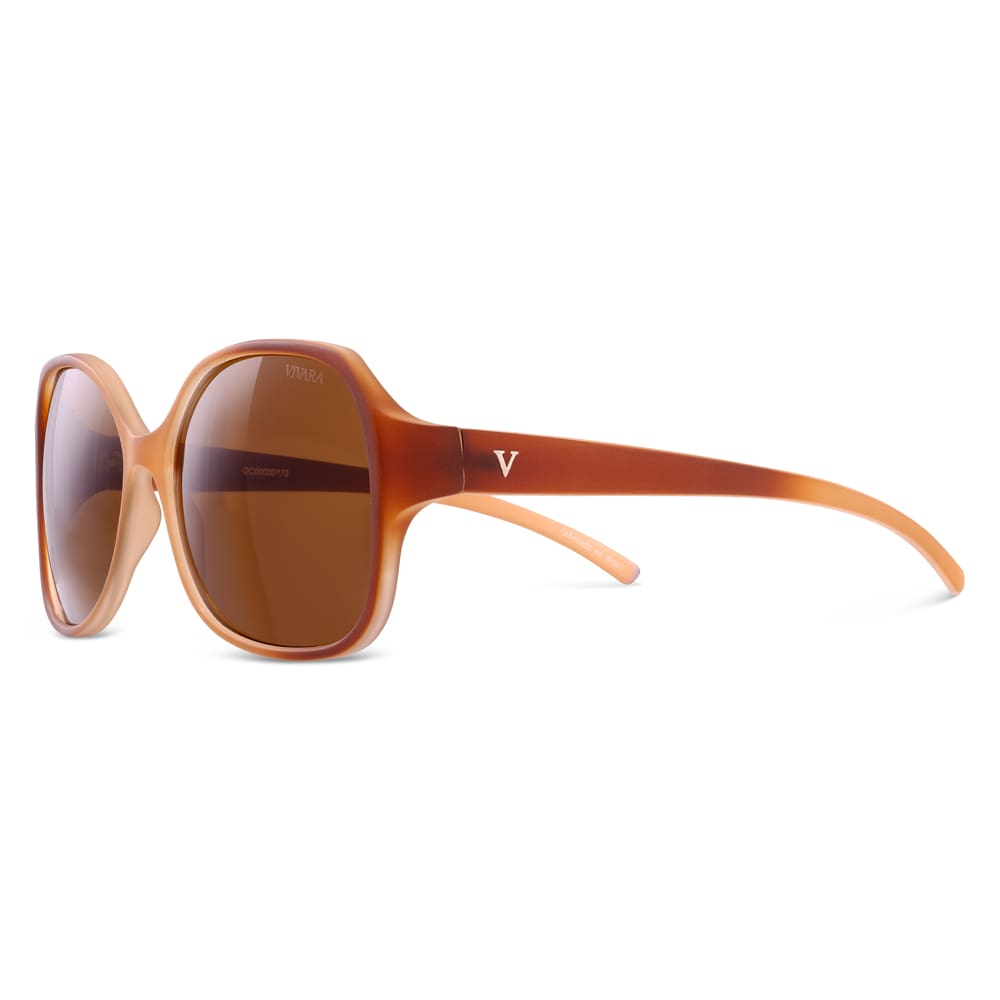 6c96aaa5c7798 Óculos de Sol Quadrado em Acetato Nude