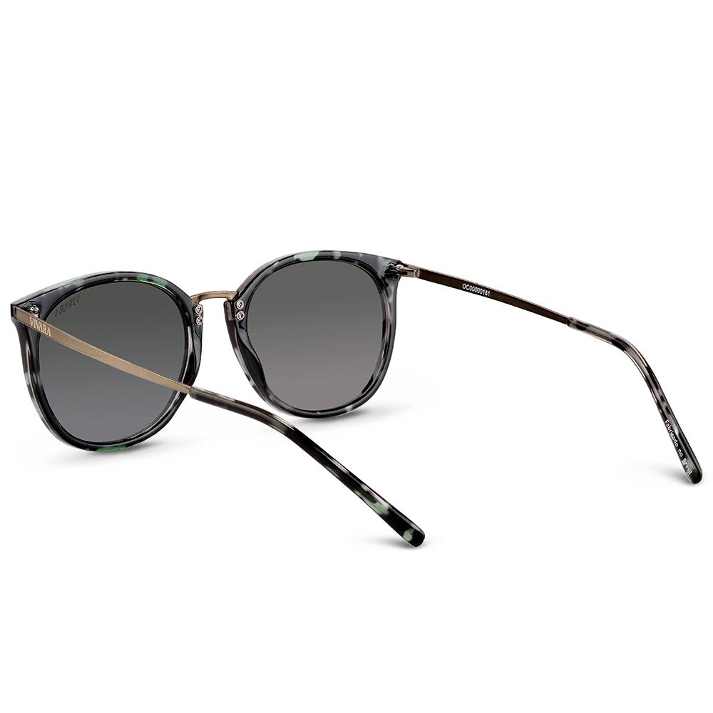 0b3391875 Óculos de Sol Quadrado em Acetato Animal Print