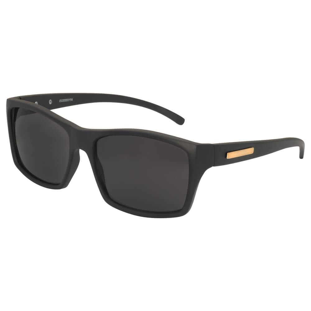 ed3c10d84 Óculos de Sol Quadrado em Acetato Preto