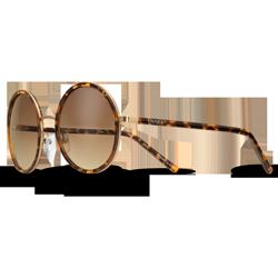 60c4366042b94 Óculos de Sol Redondo em Acetato Tartaruga