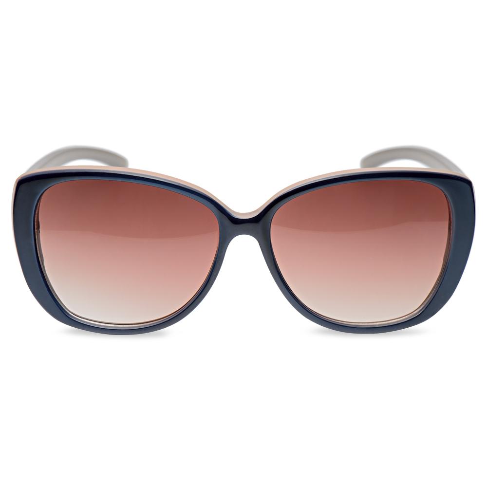 8046b7f30034a ... SolÓculos de sol gatinho em acetato azul e nude - coleção vivara +  salinas. Passe o mouse para ampliar. Confira o estoque deste produto nas  lojas