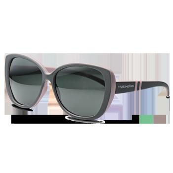 1c52617d5b375 Óculos de Sol Gatinho em Acetato Verde e Lilás. Coleção Vivara + Salinas