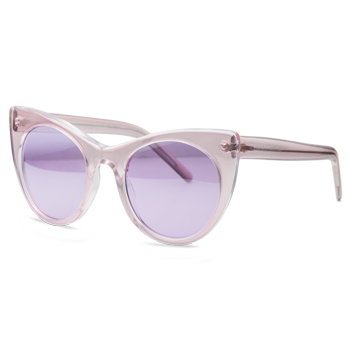 e6ef96a8da7d3 Óculos de Sol Gatinho em Acetato Rosa. Coleção Vivara + Salinas