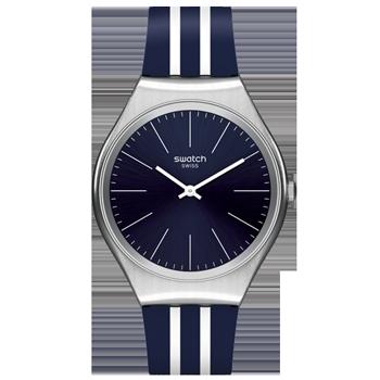 f613df57dbd Relógio Swatch Unissex Borracha Azul - SYXS106