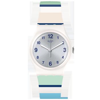 6a1f73d4baa Relógio Swatch Unissex Borracha Branca - GW189