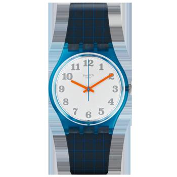 2c66dcd7584 Relógio Swatch Unissex Borracha Cinza - GS149