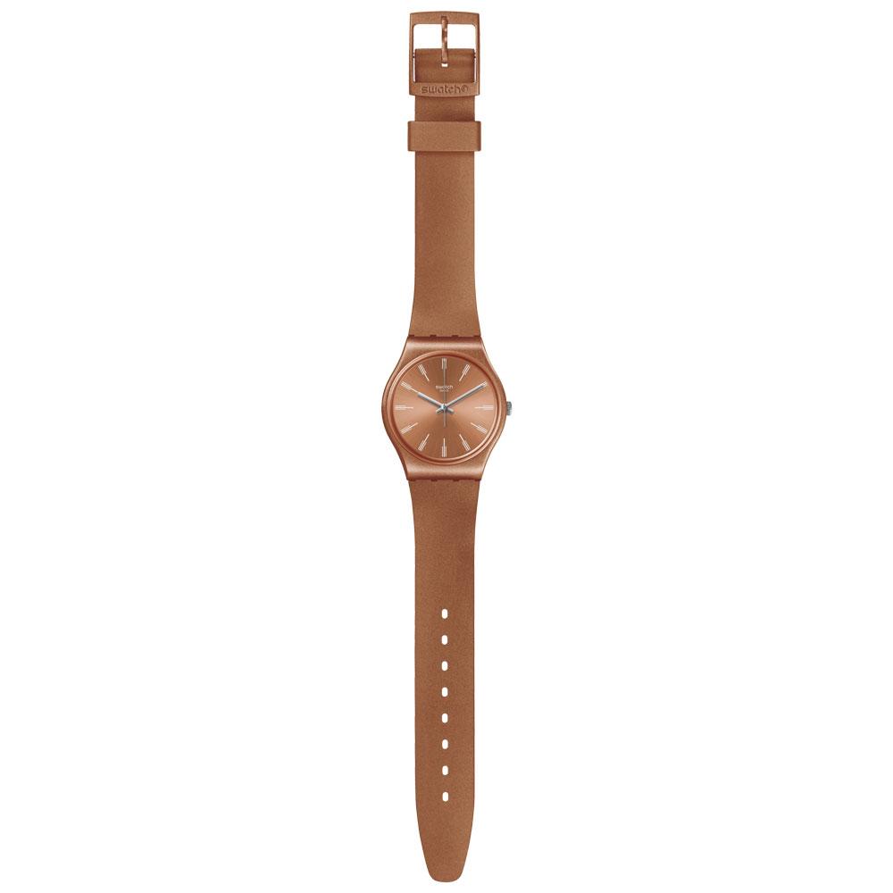 5209d7b3ccb Vivara Relógios Relógio swatch unissex borracha laranja - go118. Passe o  mouse para ampliar. Confira o estoque deste produto nas lojas