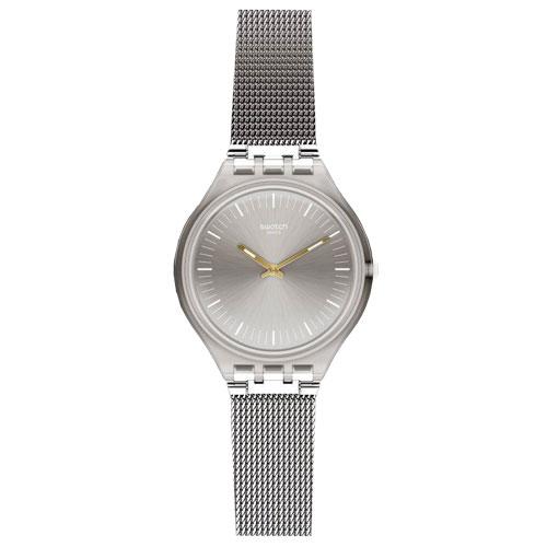 3a3cebee5ff Relógio Swatch Unissex Aço - SVOM100M
