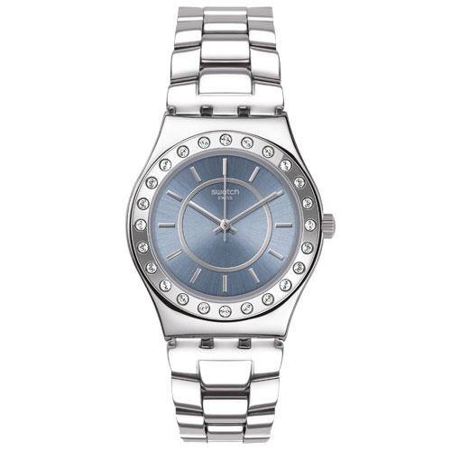 bee6519232b Relógio Swatch Feminino Aço - YLS206G