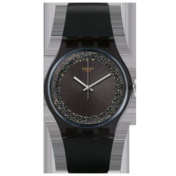 e52a4738c08 Relógio Swatch Feminino Borracha Preta - SUOB156