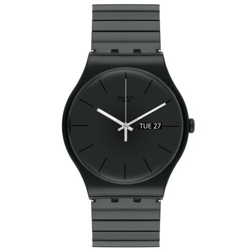 842c74a625c Relógio Swatch Unissex Aço Preto - SUOB708B