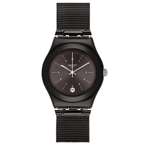 e323eef66bb Relógio Swatch Feminino Aço Preto - YLB403M