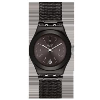 7ab37a4cc83 Relógio Swatch Feminino Aço Preto - YLB403M