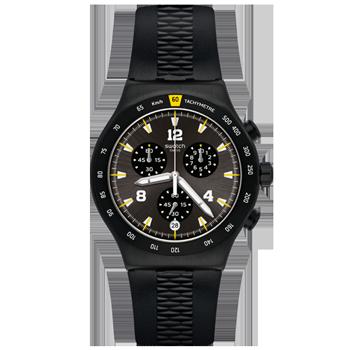 561f7291bd7 Relógio Swatch Masculino Borracha Preta - YVB405
