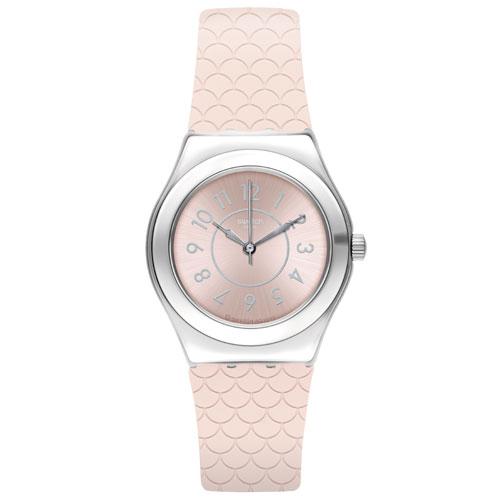 e369f949fa2 Relógio Swatch Feminino Borracha Rosa - YLZ101