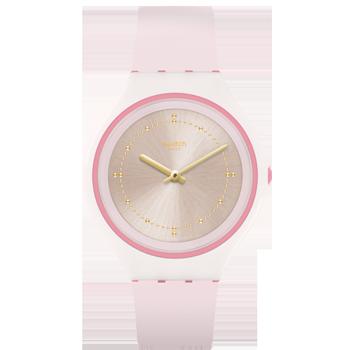 af2947fb6e8 Relógio Swatch Feminino Borracha Rosa - SVUP101