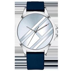 ef27c6b3a49 Relógio Tommy Hilfiger Feminino Couro Azul - 1781964