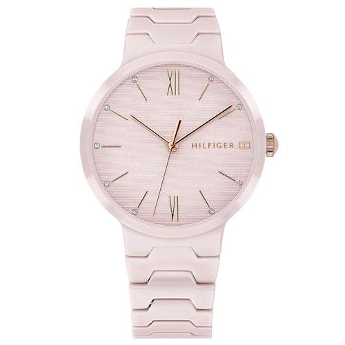 ce44b4e4343 Relógio Tommy Hilfiger Feminino Cerâmica Rosa - 1781957
