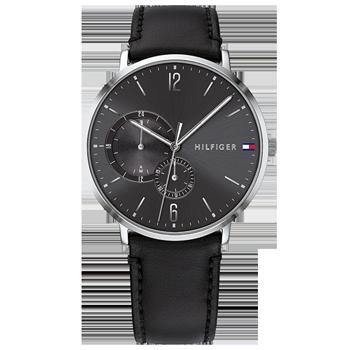 4a6122c6cb0 Relógio Tommy Hilfiger Masculino Couro Preto - 1791509