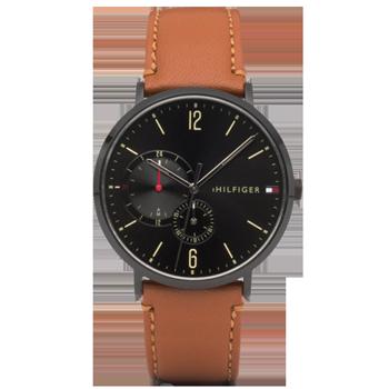 2197b574e1b Relógio Tommy Hilfiger Masculino Couro Marrom - 1791510