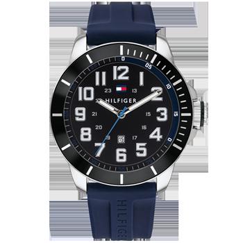 669a7881553 Relógio Tommy Hilfiger Masculino Borracha Azul - 1791537