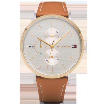 deffa83206e Relógio Tommy Hilfiger Feminino Couro Marrom - 1781947