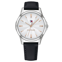 a37233431e6 Relógio Tommy Hilfiger Feminino Couro Preto - 1781953