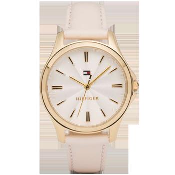 2f8ce38d617 Relógio Tommy Hilfiger Feminino Couro Rosa - 1781954