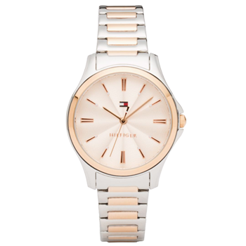 83b3d2b2b40 Relógio Tommy Hilfiger Feminino Aço Prateado e Rosé - 1781952