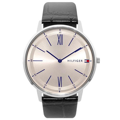 c5db228ac03 Relógio Tommy Hilfiger Masculino Couro Preto - 1710370