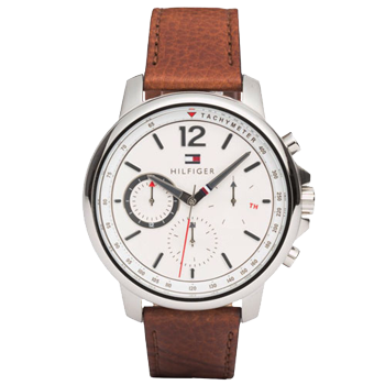 cc93627cb56 Relógio Tommy Hilfiger Masculino Couro Marrom - 1791531