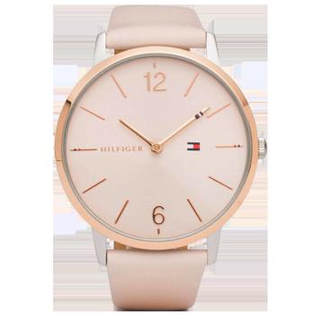f919b16676b Relógio Tommy Hilfiger Feminino Couro Rosa - 1781973