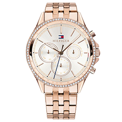 b25b4818f97 Relógio Tommy Hilfiger Feminino Aço Rosé - 1781978