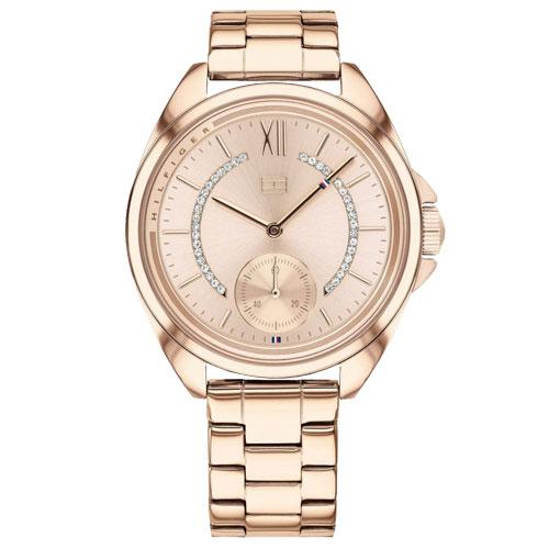 79f3e89313c Relógio Tommy Hilfiger Feminino Aço Rosé - 1781989